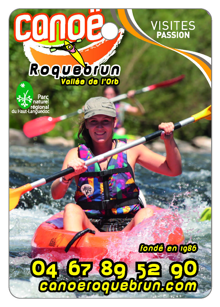Canoë Roquebrun