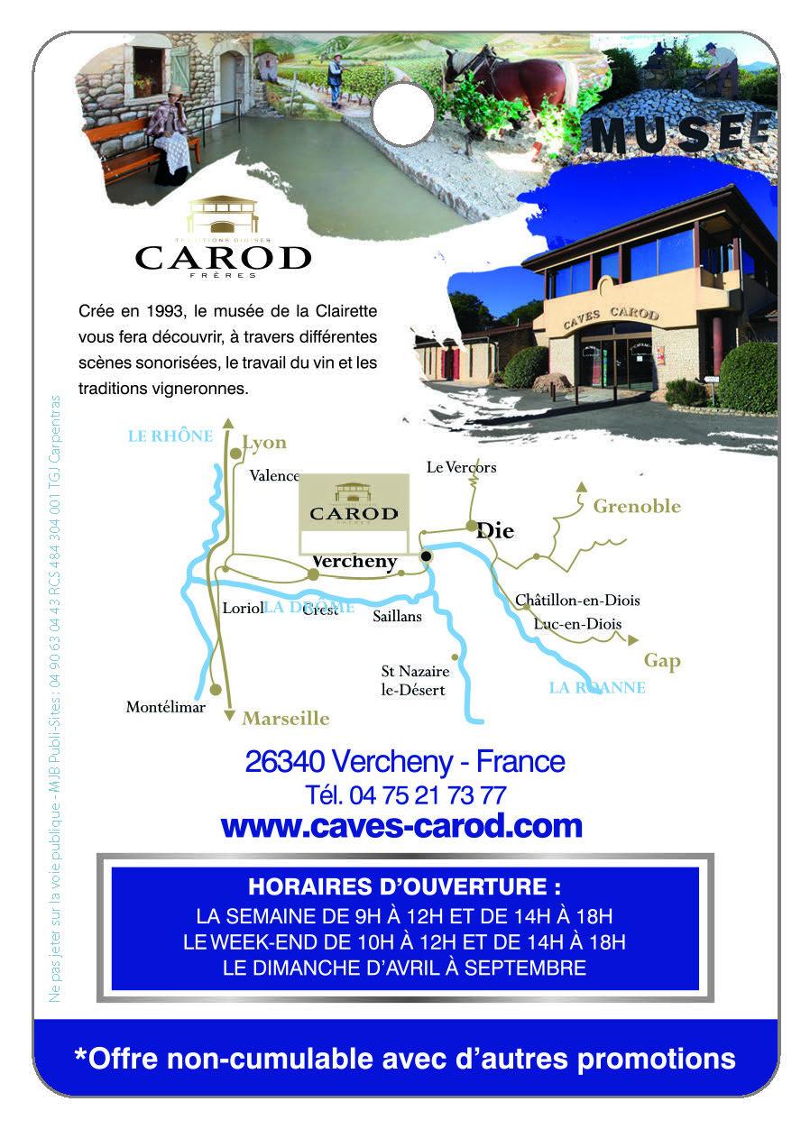 Cave Carod, Le Musée de la Clairette