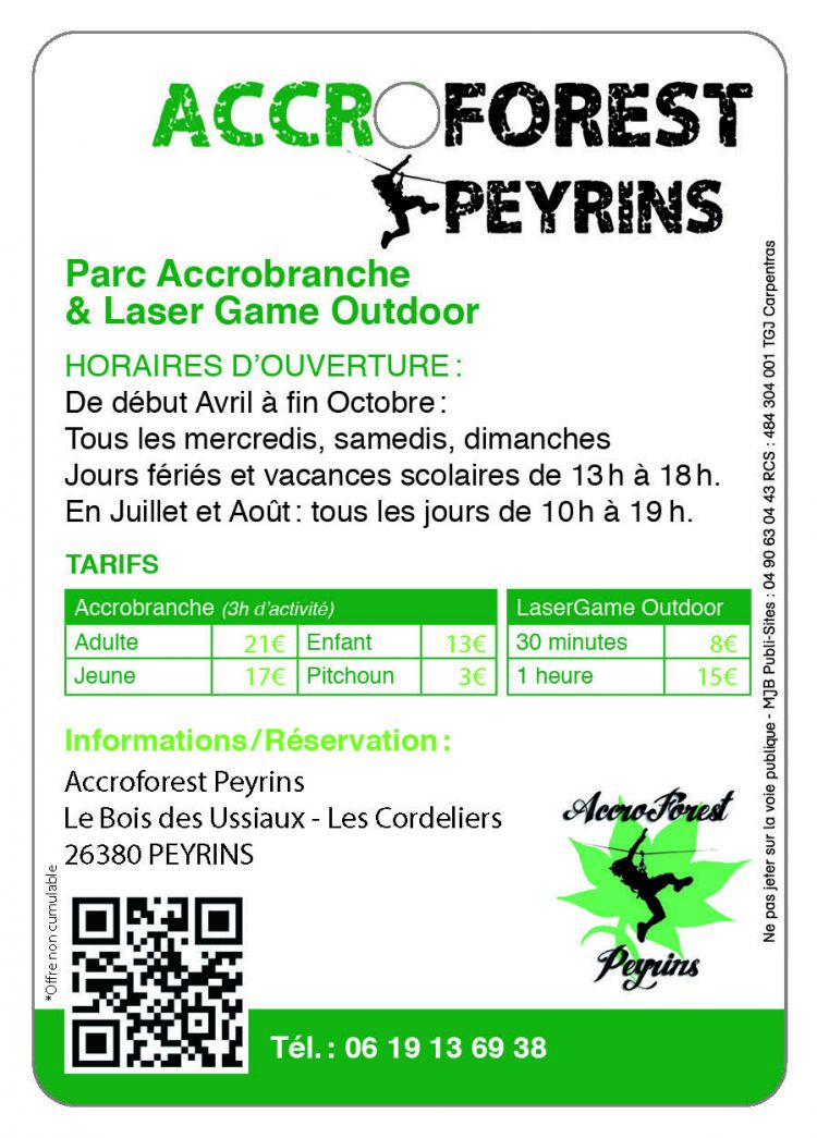 Accro Forest Peyrins