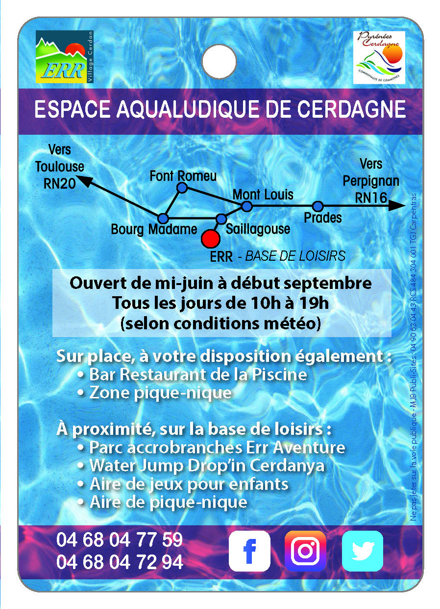espace Aqualudique de Cerdagne