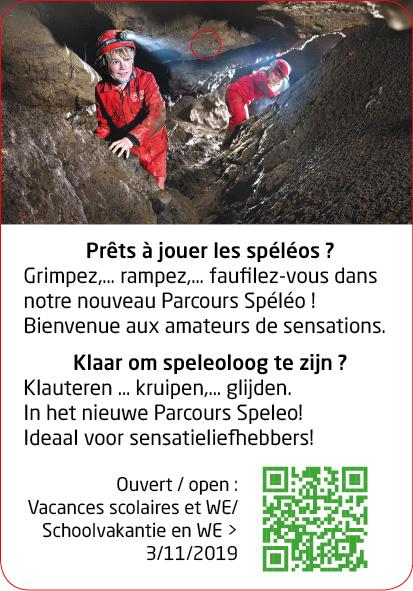 Grottes de Han - Parcours Spéléo