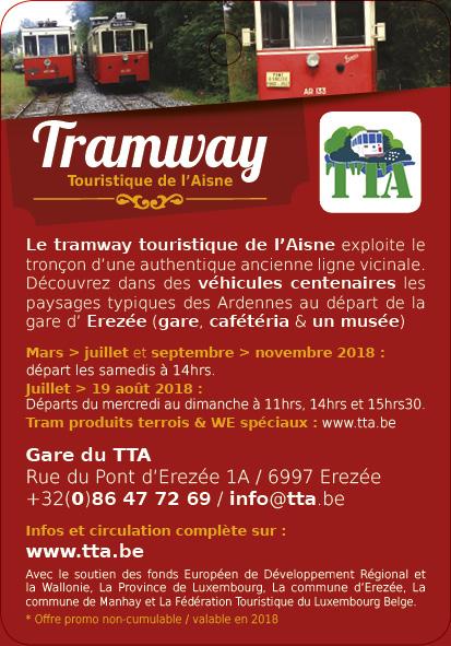 Tramway touristique d'Aisne