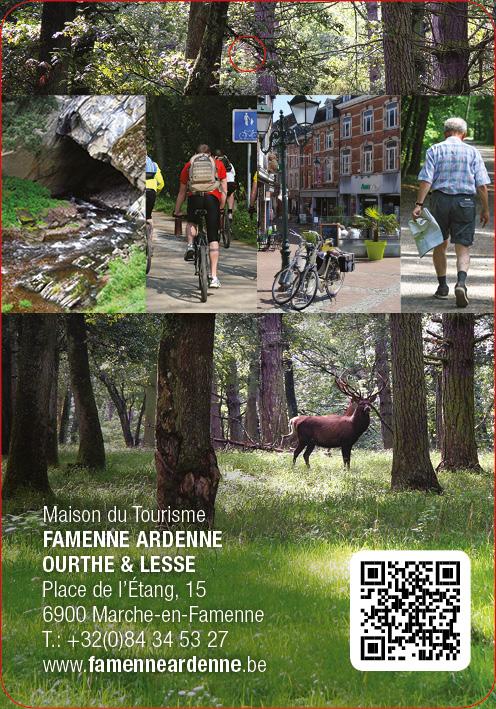Maison du tourisme Famenne Ardenne Ourthe et Lesse