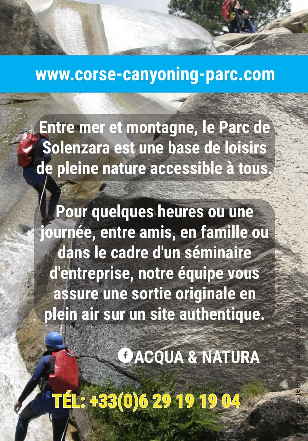 Acqua e Natura Canyoning