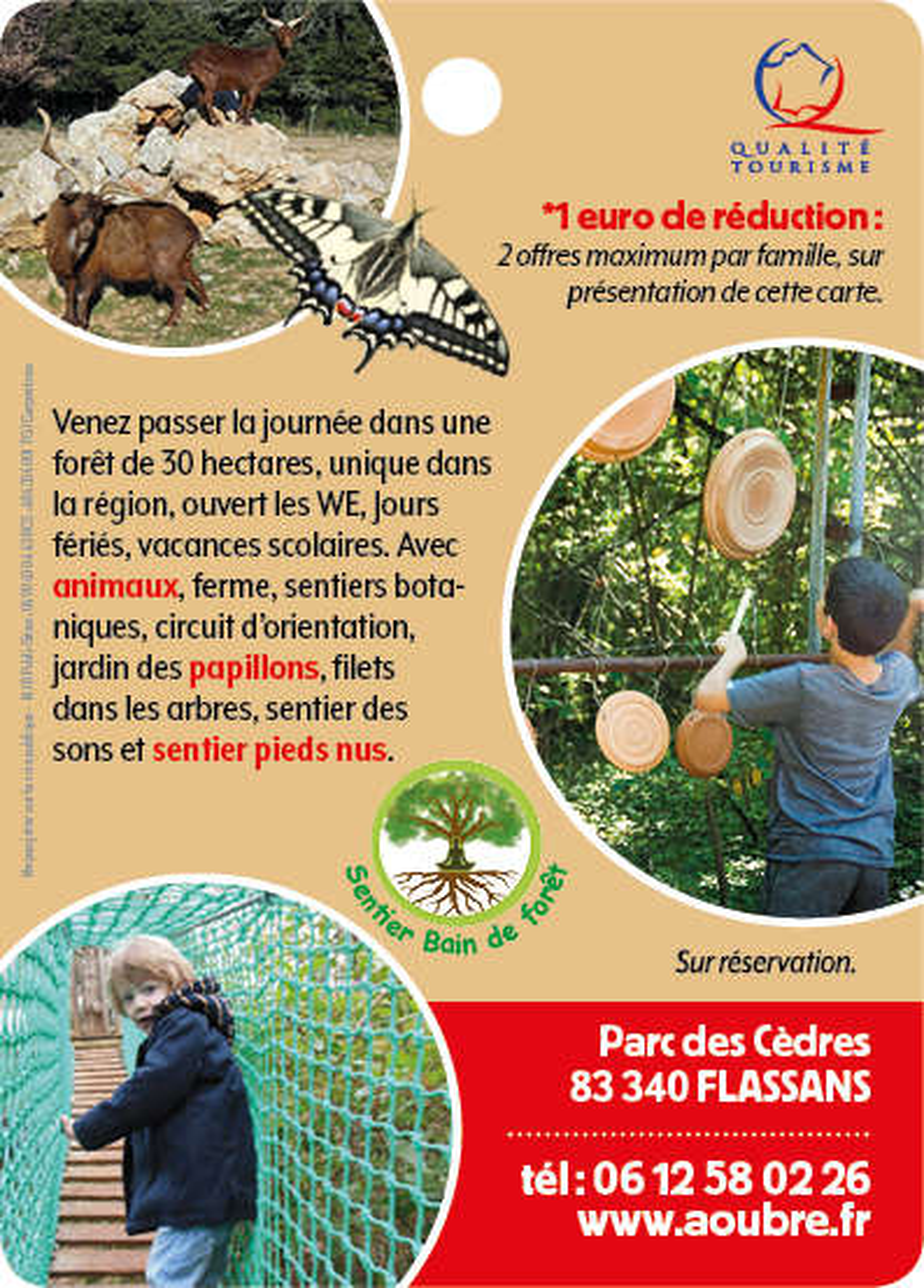 Aoubré - Parc Nature Animaux -