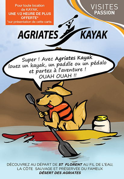 Agriates Kayak