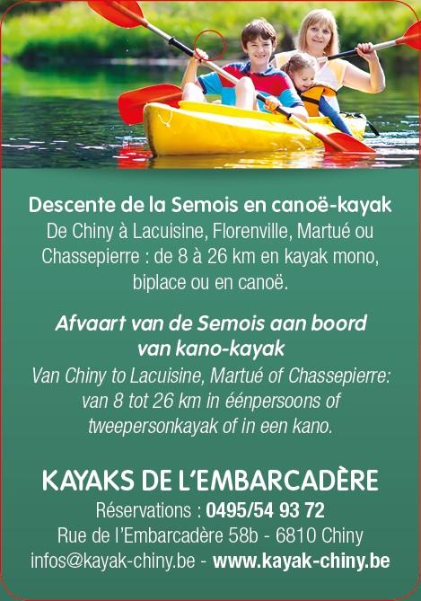 Kayaks de l'Embarcadère