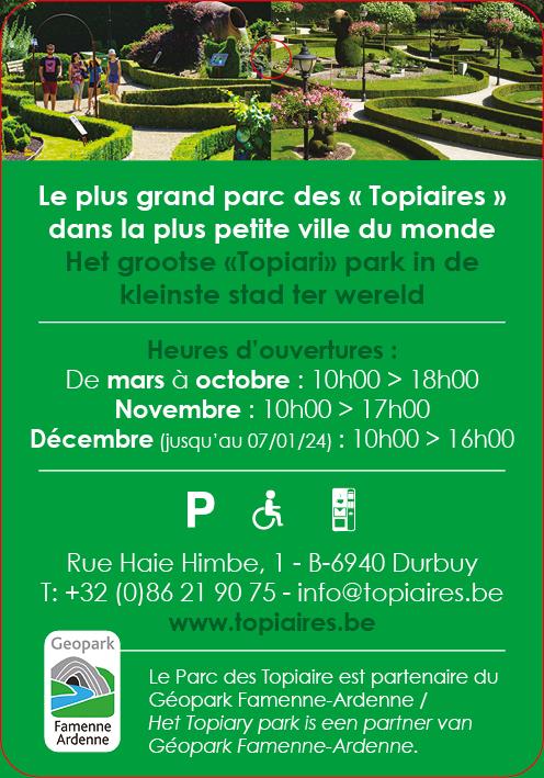 Le Parc des Topiaires