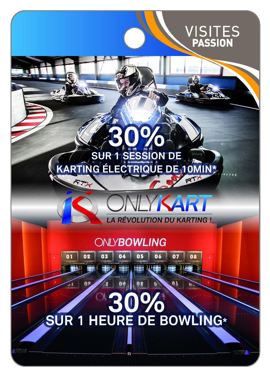 Only Kart La révolution du Karting ! - Only Bowling -