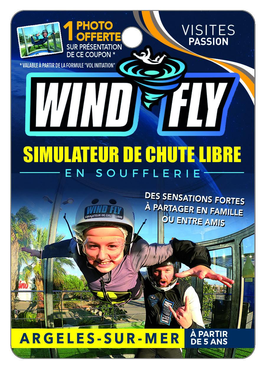 WIND FLY Simulateur de Chute libre en soufflerie