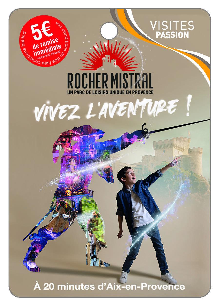 ROCHER MISTRAL La Provence comme vous ne l'avez jamais vue