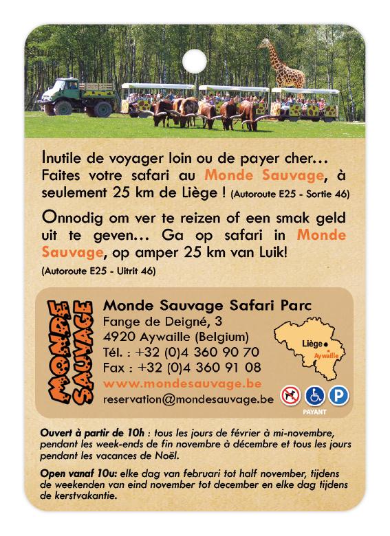 Monde Sauvage d'Aywaille - Safari Parc