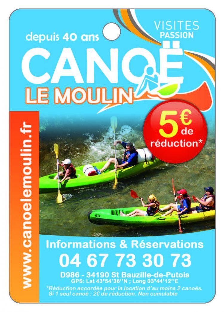 Canoë Le Moulin