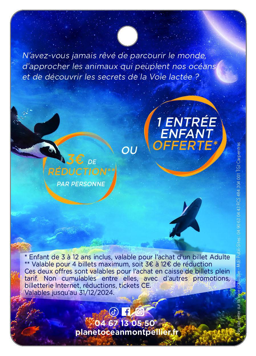 Planet Ocean Montpellier - Odysseum -