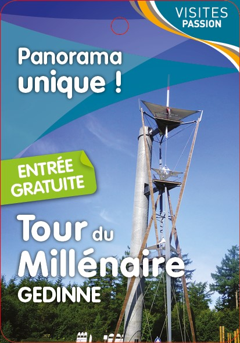 Tour du Millénaire - Panorama unique Gedinne