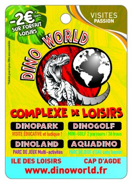 Dino World Complexe de Loisirs