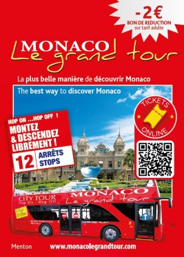 Monaco Le Grand Tour - Visite en bus
