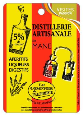 Distillerie Artisanale de Mane, Le comptoir de l\'Alchimiste