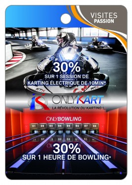 Only Kart La révolution du Karting ! - Only Bowling -