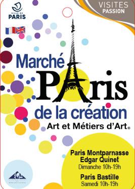 MARCHE DE LA CRÉATION PARIS BASTILLE