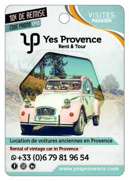 Yes provence Rent & Tour